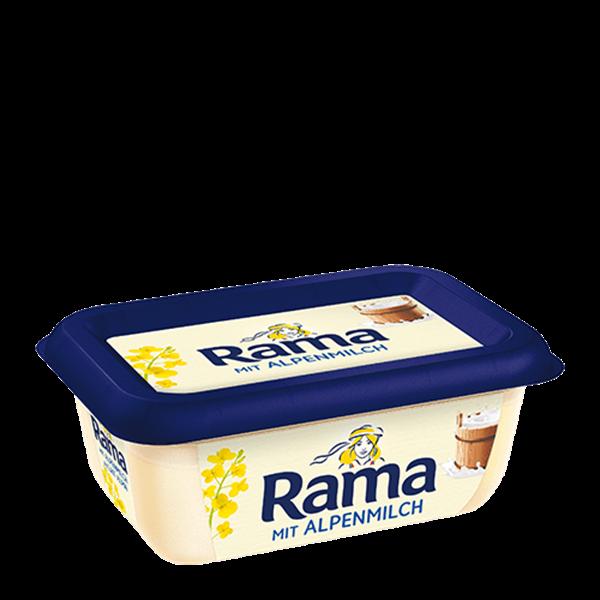 Butter zum degoldeket: rama backen mit Neu im