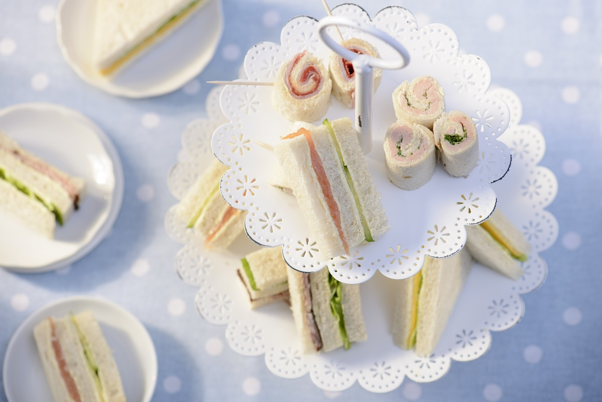 recipe image Rama Tea Time-Sandwiches