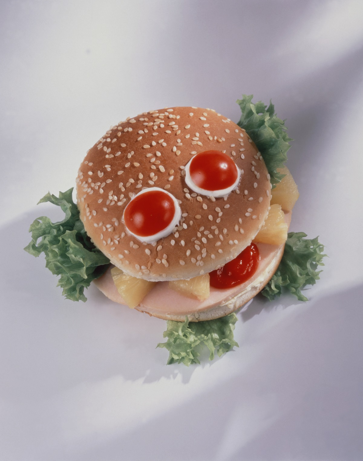 recipe image Smiley Burger