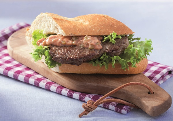 recipe image Steak-Sandwich