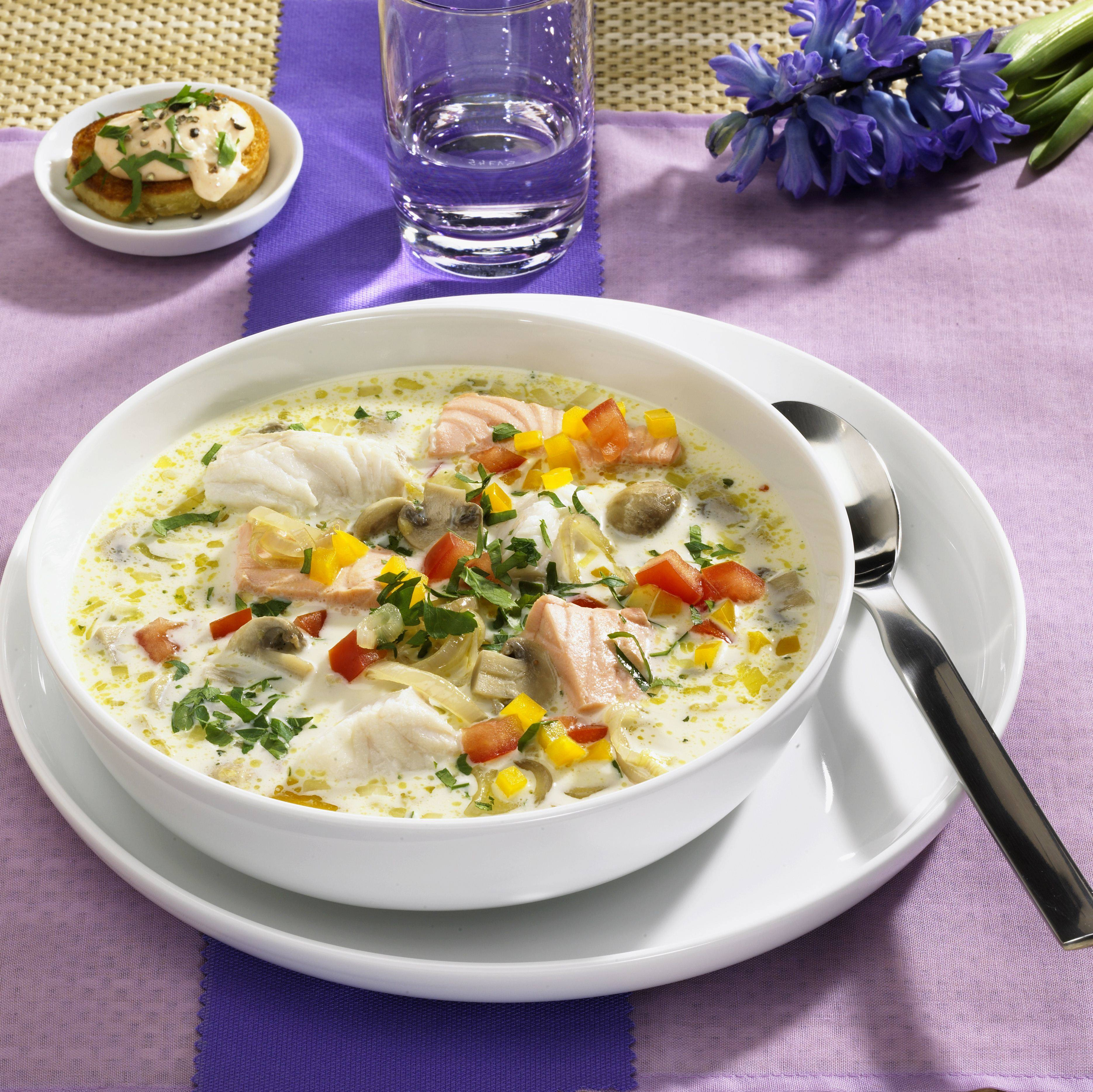 recipe image Fischsuppe