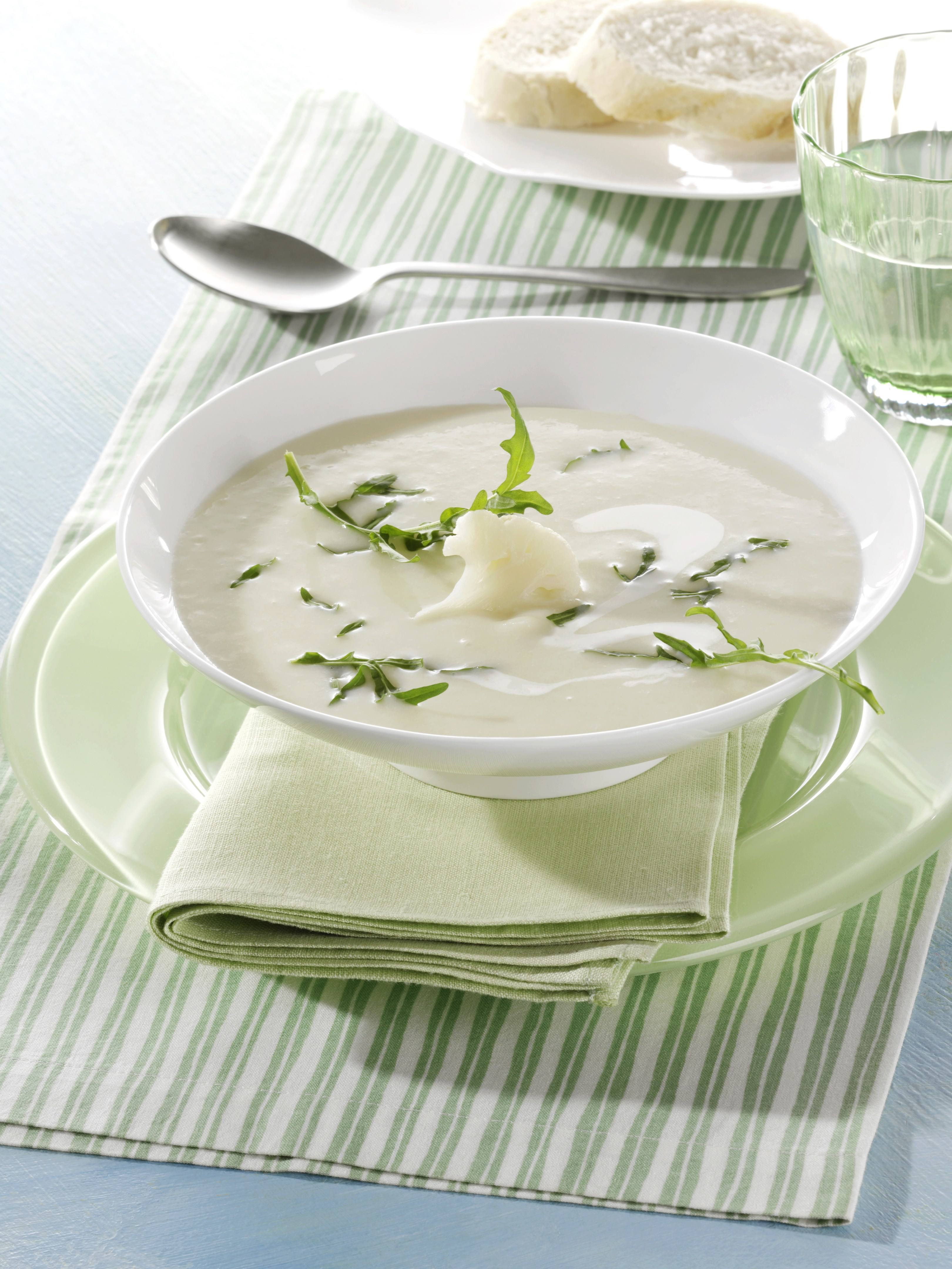 recipe image Karfiol-Rucola-Suppe