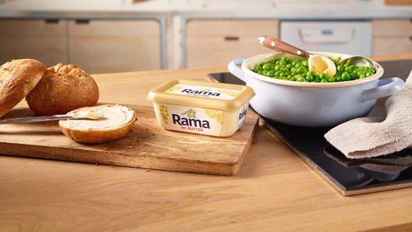 Mit degoldeket: zum backen butter rama In der