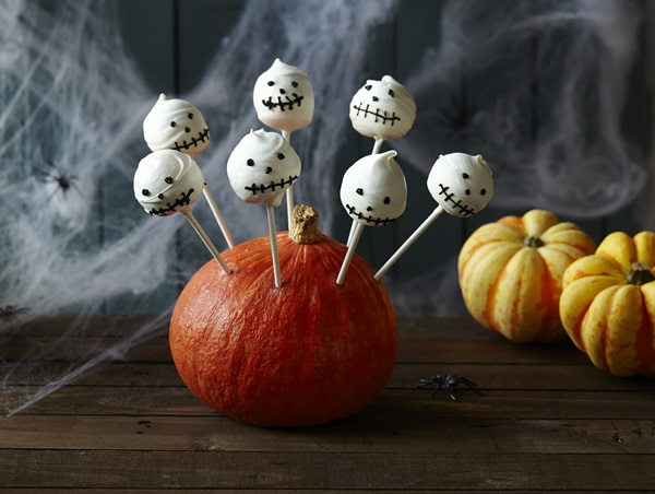 recipe image Cake pops de Halloween